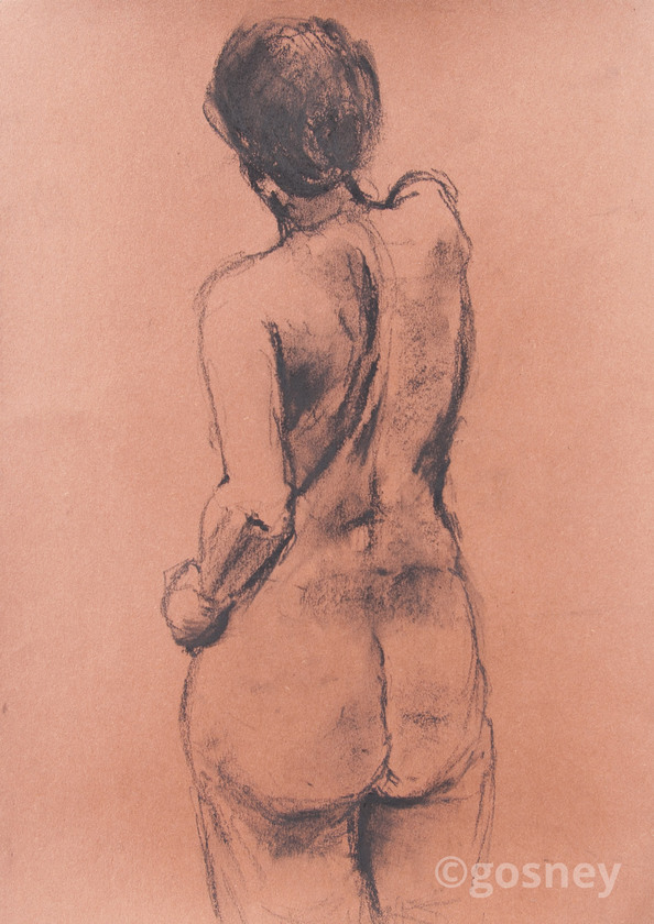Large study female back 11