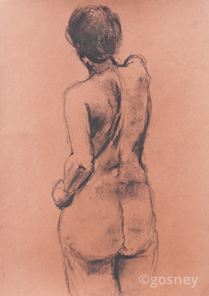 Medium study female back 11