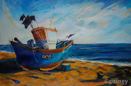 Medium fishing boat aldeburgh 10