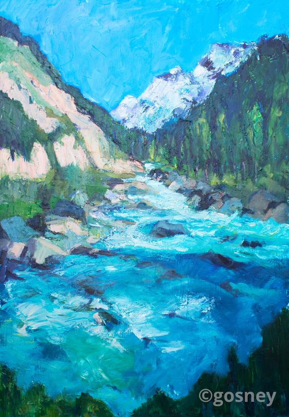 Large sacred river peru 2